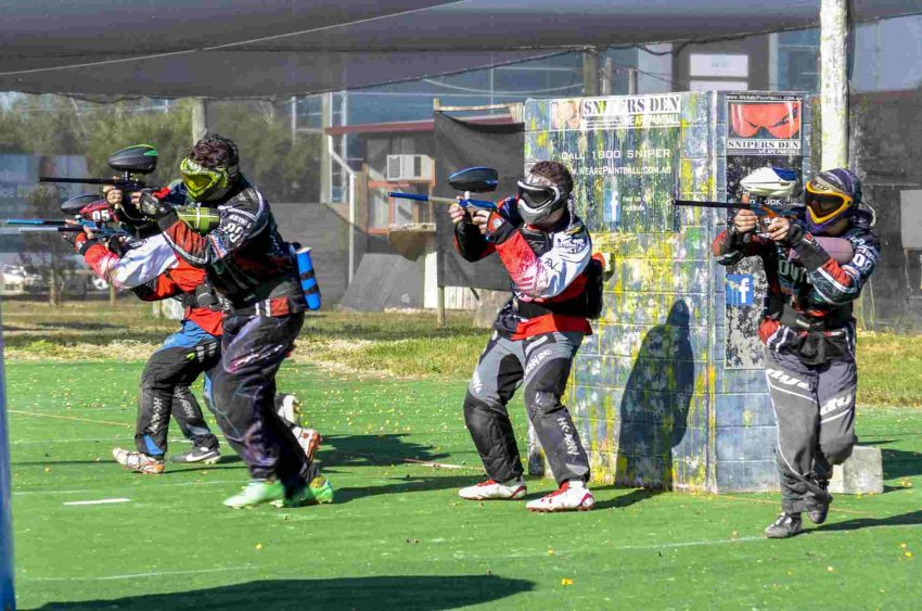 Explore the amazing Snipers Den Paintball in Melbourne