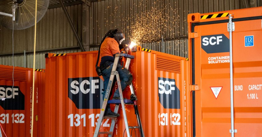Hire Containers for Your Construction Site in Australia